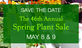 Save the Date: 46th Annual Plant Sale 2015