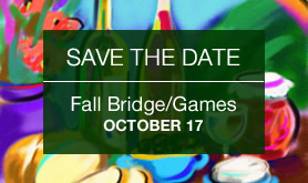 Harvest Sip & Stroll, Fall Bridge/Games Fundraiser